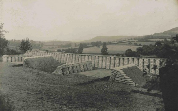An exercise in building fortifications 1908
